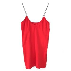 Free People Intimately Red Camisole Tank Top XS/S